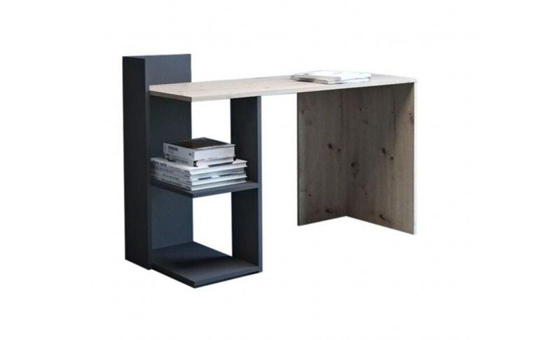 Компьютерные столы: купить Стол Paco-1 дуб артисан антрацит - 1