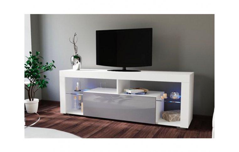 Тумбы под телевизор: купить Тумба под ТВ Hugo 160 серый/белый Accord - 1