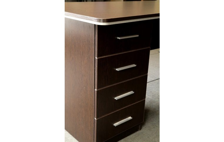 """Мебель для руководителя: купить Кабинет """"Ньюман"""" стол руководителя (венге) - 6"""