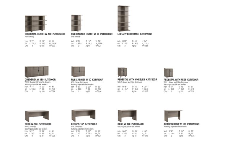 Итальянская мебель: купить Домашний кабинет Tivoli Alf Group - 8