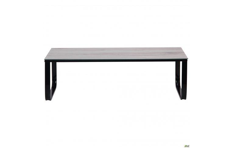Журнальные столы: купить Стол журнальный Oregon черный/стекло дуб шервуд AMF - 3