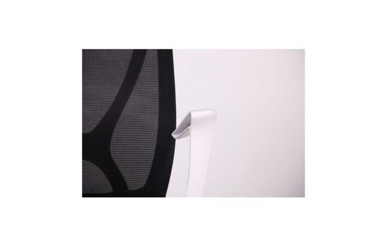 Кресла для руководителя: купить Кресло Nickel White сиденье Сидней 07 спинка Сетка SL-00 черная - 4