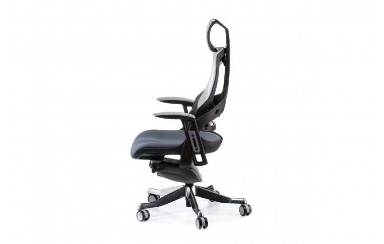 Кресла для руководителя: купить Кресло WAU SLATEGREY FABRIC, SNOWY NETWORK - 3