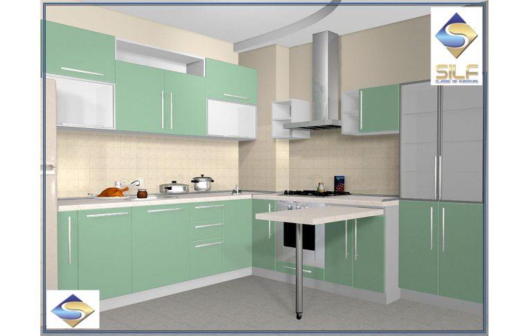 Кухни на заказ: купить Кухня под заказ Саманта Сильф - 1