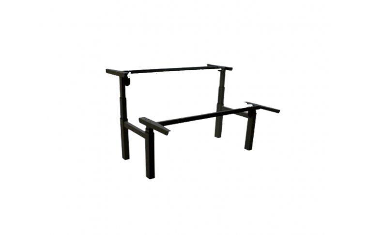 Эргономичные столы: купить Сдвоенный стол с регулировкой высоты 501-88 7S (W, B) - 1