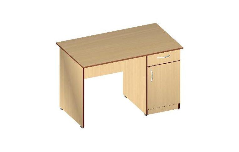 Письменные столы: купить Стол письменный СП-1Я (ДСП кальвадос) - 1