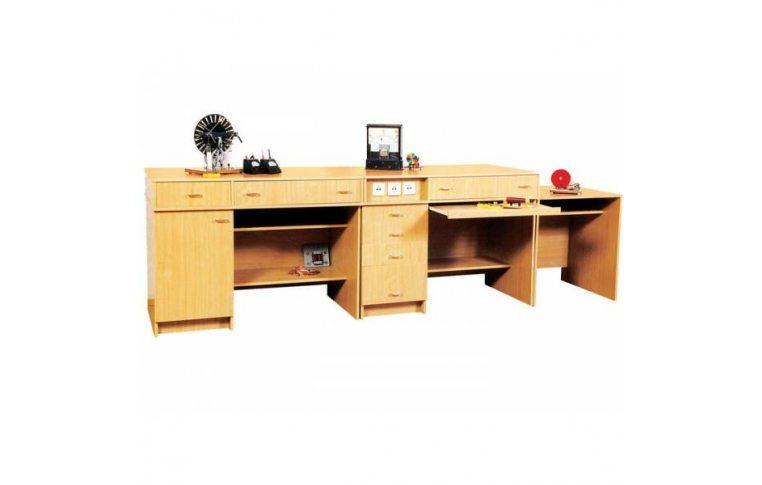Школьные парты: купить Стол демонстрационный для кабинета физики - 1