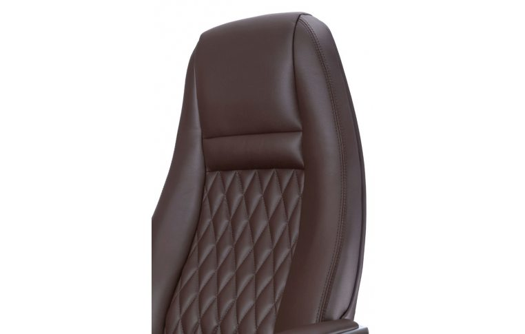 Кресла для руководителя: купить Кресло F185 BRE коричневый - 3