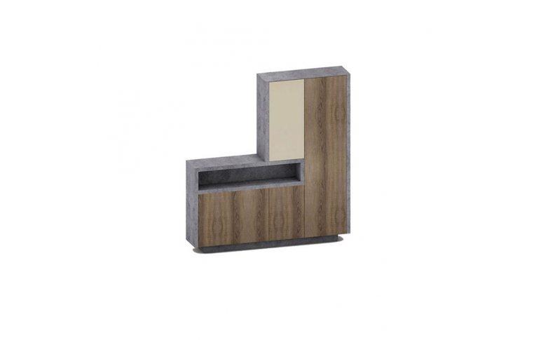 Офисная мебель: купить Шкаф с гардеробом Урбан 30-817 (2204*400*H2258) - 1