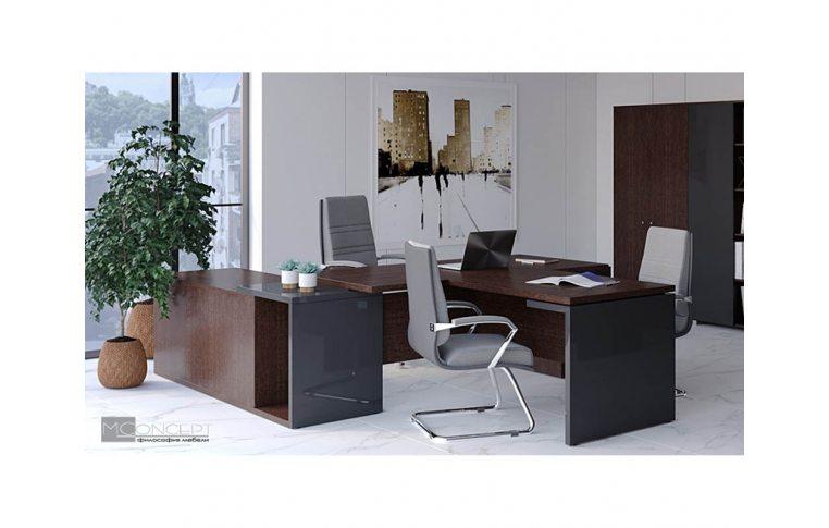 Кабинеты руководителя: купить Кабинет руководителя Глосс M-Concept - 3