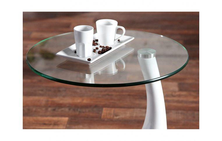 Журнальные столы: купить Стол журнальный Перла белый - 4
