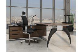 Мебель для руководителя: купить Стол руководителя с тумбой Спайдер