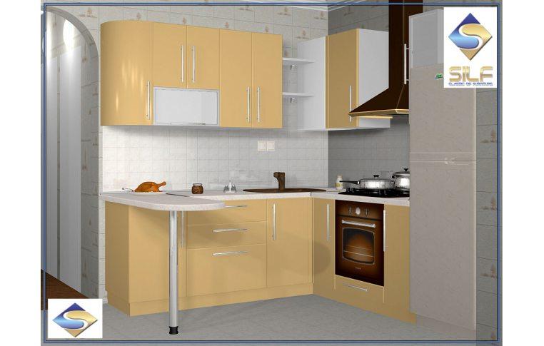Кухни на заказ: купить Кухня под заказ Робби Сильф - 1