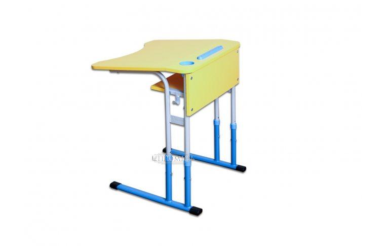 Школьные парты: купить Стол-парта антисколиозный одноместный с регулируемой высотой (рост.гр.3-5) - 1