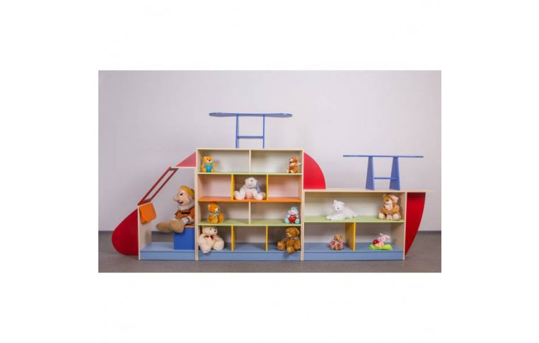 """Мебель для детского сада: купить Стенка """"Вертолет"""" - 1"""