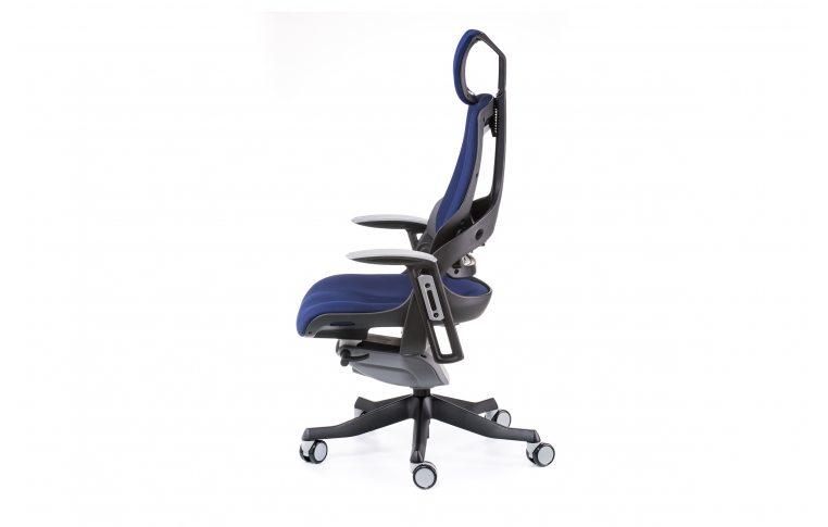 Офисные кресла: купить Кресло WAU NAVYBLUE FABRIC - 3