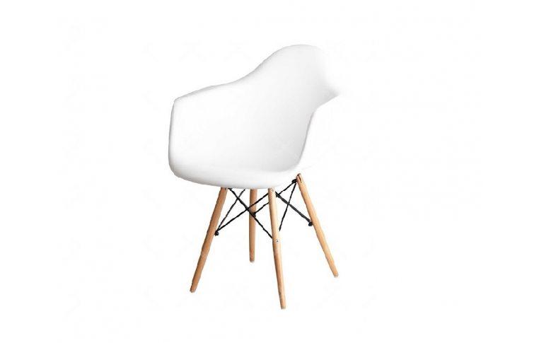 Пластиковые стулья: купить Кресло Прайз белое Domini - 1