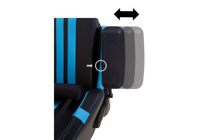 Игровые кресла: купить Кресло для геймеров Hexter Pro r4d Tilt mb70 Eco/03 Black/Blue - 14