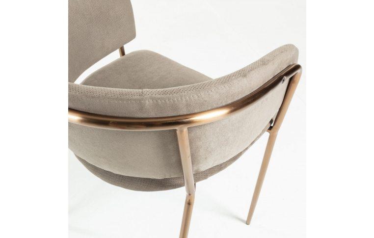 Кухонные стулья: купить Стул Konnie серо-коричневый золото La Forma - 3
