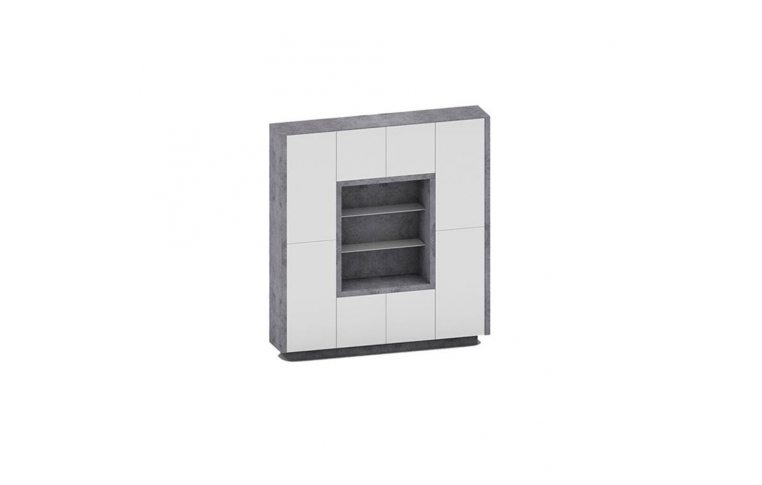 Мебель для руководителя: купить Шкаф Урбан 30/814 (2104*400*H2258) - 1