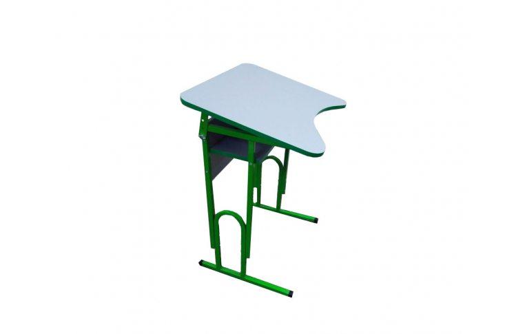 Школьные парты: купить Парта одноместная с регулировкой высоты и наклона столешницы Сильф - 1