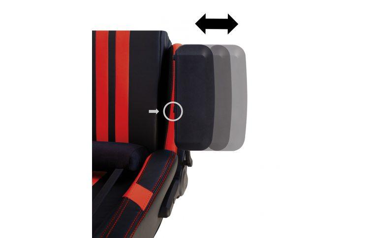 Игровые кресла: купить Кресло для геймеров Hexter Pro r4d Tilt mb70 Eco/03 Black/Red - 13