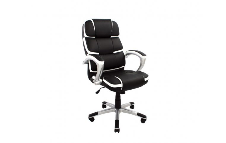 Игровые кресла: купить Кресло Ричгейм Х М-1 кожзам ч/б Richman - 1