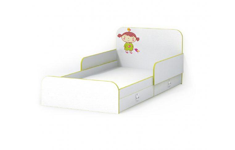 Детская мебель: купить Детская кровать Яблоко (Apple) LuxeStudio - 1