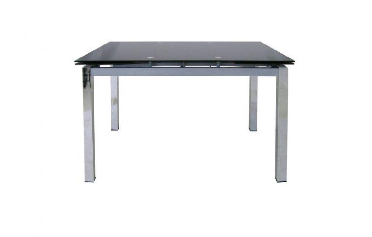 Раскладные столы: купить Раскладной стеклянный стол Обсидиан - 1