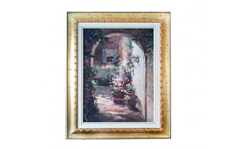 Декор для дома: купить Картина Итальянский дворик - 1