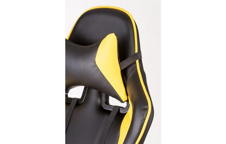 Геймерские кресла: купить Кресло ExtremeRace black/yellow - 7