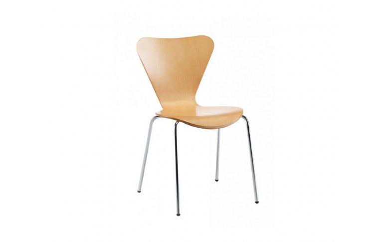 Кухонные стулья: купить Стул Ант, гнутая фанера, натуральный дуб - 1