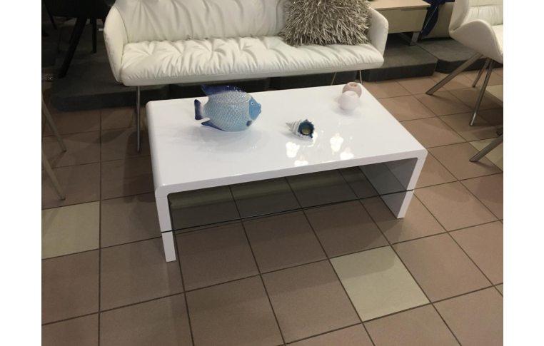 Журнальные столы: купить Стол журнальный СТ1-157Р белый - 1