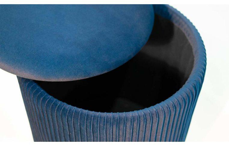 Пуфы: купить Пуф Томас мягкий синий - 5