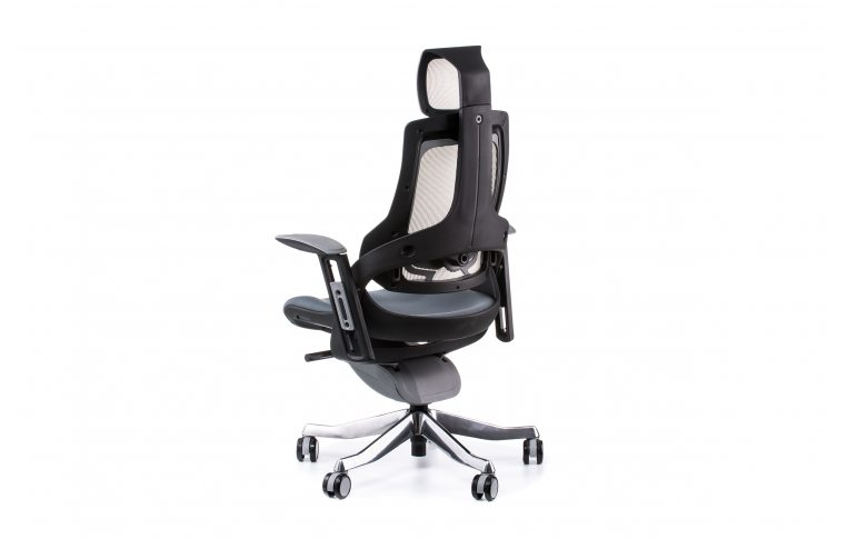 Кресла для руководителя: купить Кресло WAU SLATEGREY FABRIC, SNOWY NETWORK - 4