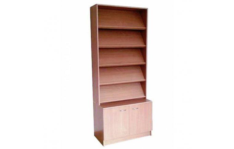 Школьные шкафы: купить Стеллаж-тумба выставочная - 1