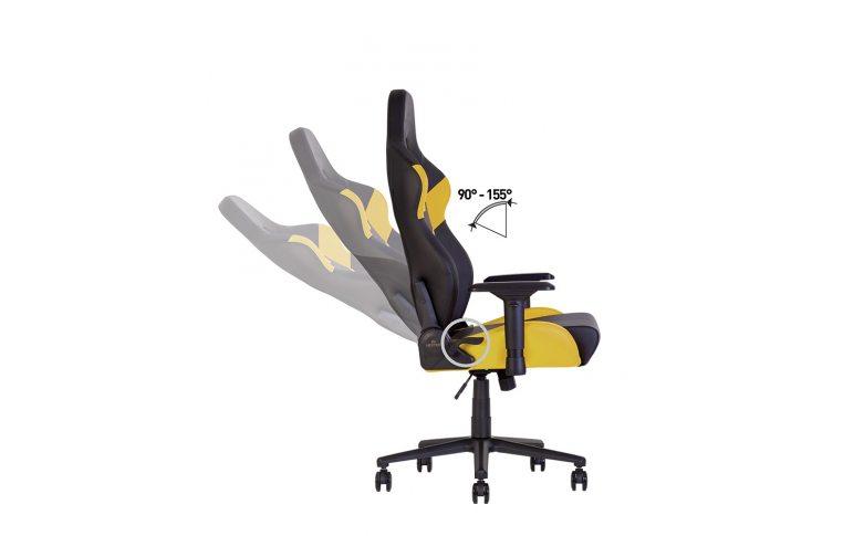 Игровые кресла: купить Кресло для геймеров Hexter rc r4d Tilt mb70 Eco/02 Black/Yellow - 11