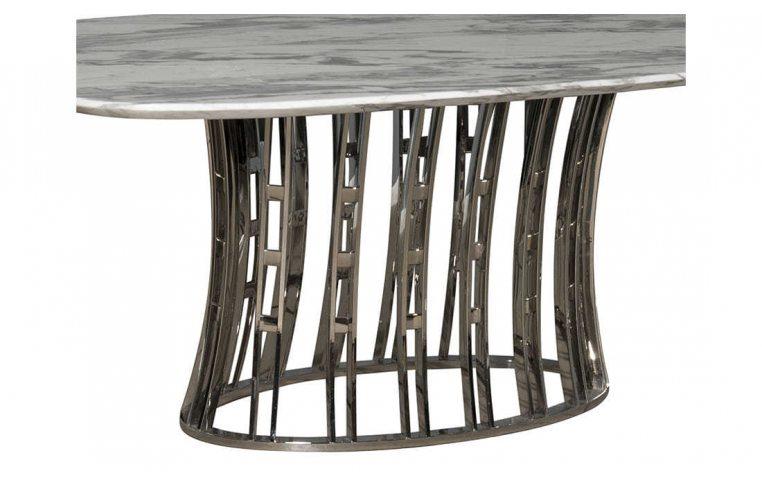 Кухонные столы: купить Стол мраморный Эван Prestol - 2