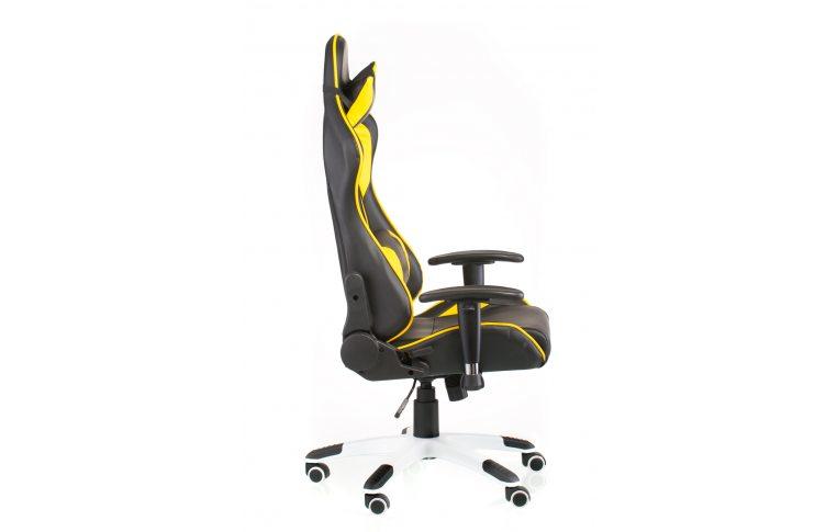Геймерские кресла: купить Кресло ExtremeRace black/yellow - 4