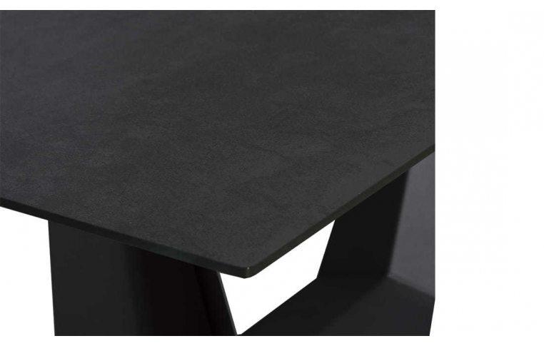 Кухонные столы: купить Стол Антей черный керамика - 5