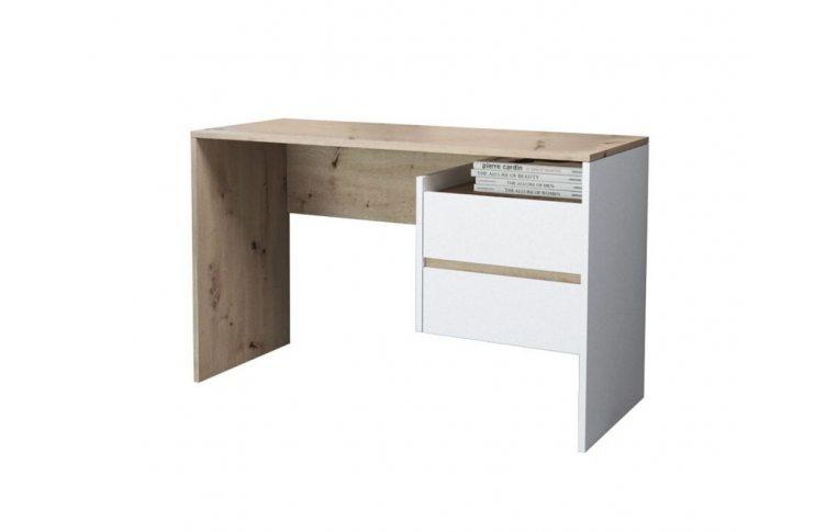 Компьютерные столы: купить Стол Paco-3 дуб артисан белый - 1