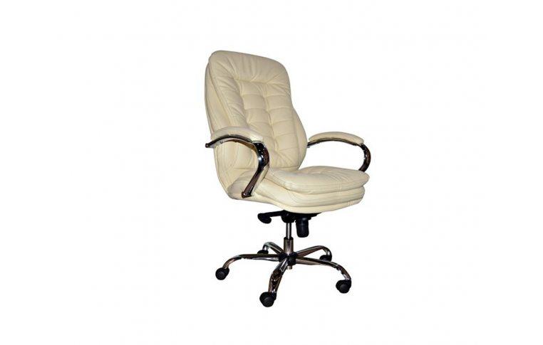Кресла для руководителя: купить Кресло Барселона Barselona Chrome H-17 beige - 1