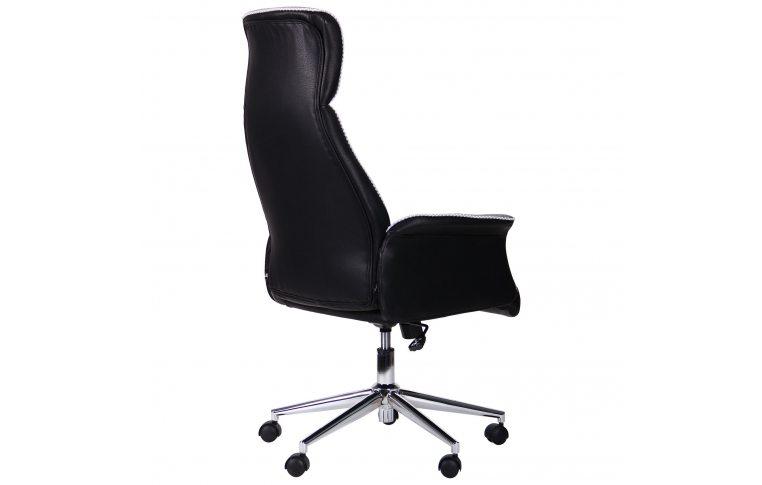 Кресла для руководителя: купить Кресло Brooklyn светло-серый, черный - 3