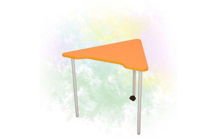 Школьные парты: купить Стол модульный мобильный «Треугольник 60⁰» - 1