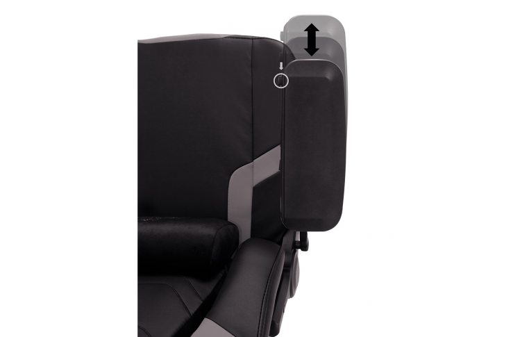 Игровые кресла: купить Кресло для геймеров Hexter xr r4d mpd mb70 Eco/01 Black/Grey - 11