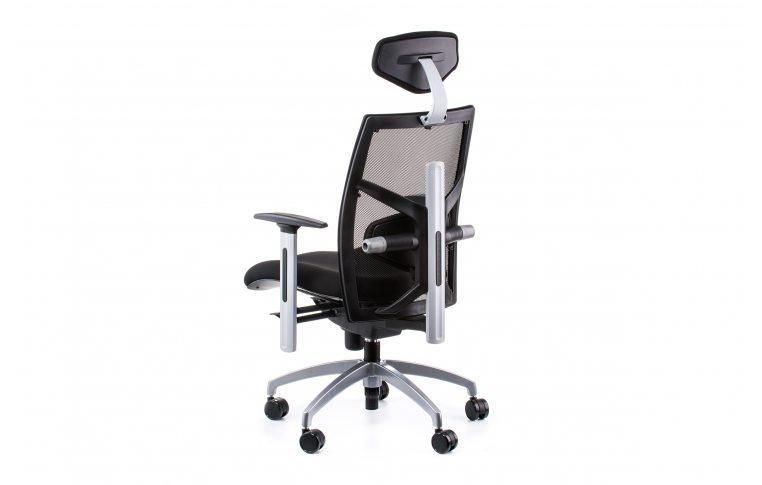 Офисные кресла: купить Кресло EXACT BLACK FABRIC, BLACK MESH - 4
