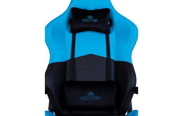Геймерские кресла: купить Кресло для геймеров Hexter rc r4d Tilt mb70 Eco/01 Black/Blue - 9