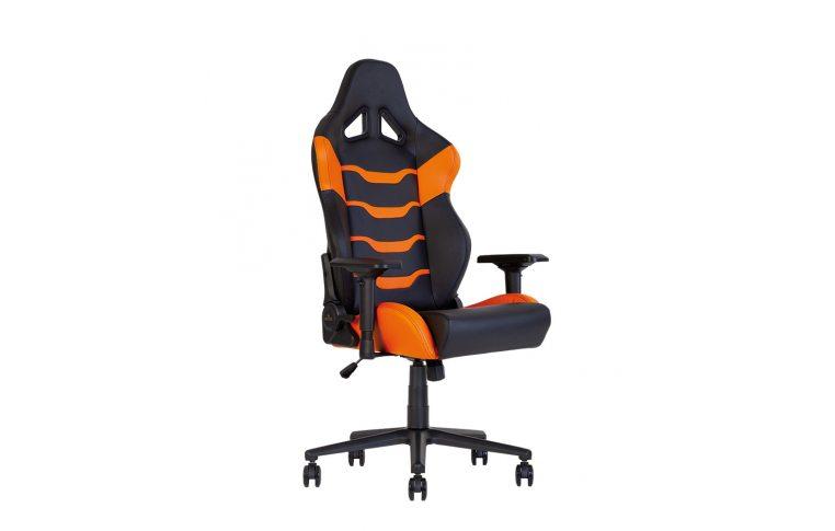 Игровые кресла: купить Кресло для геймеров Hexter pc r4d Tilt mb70 Eco/02 Black/Orange - 1