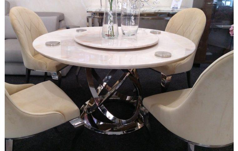 Кухонные столы: купить Круглый обеденный стол из Мрамора Decor Furniture - 1