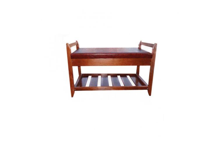 Мягкая мебель: купить Полка для обуви №2 (венге) - 1